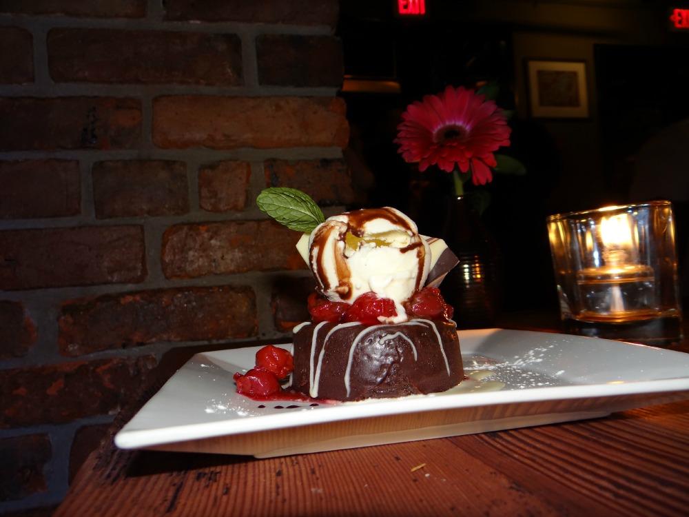 Cioccolato Italiano Dessert at IL Terrazzo downtown victoria