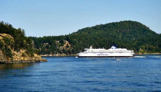 Ferry  to Victoria BC sailing from Tsawwassen Vancouver
