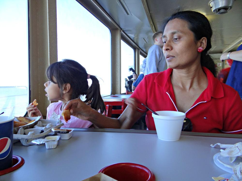 Coho Ferry Cafeteria