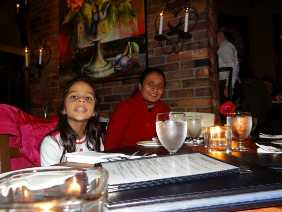 Enjoying Magical Candlelight Atmosphere at IL Terrazzo Restaurant