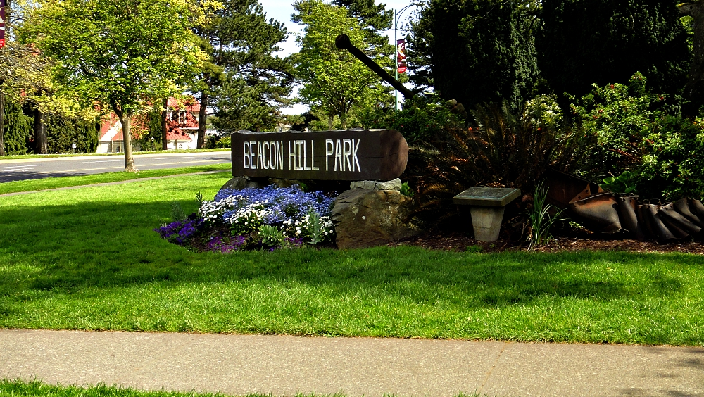 Victoria BC attractions - Beacon Hill Park