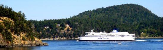 Ferry to Victoria BC