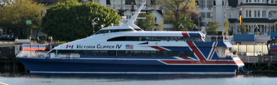 Victoria Clipper is a Passenger Ferry to Victoria BC from Seattle