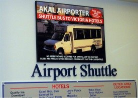 Akal Airporter - Victoria Airport Shuttle