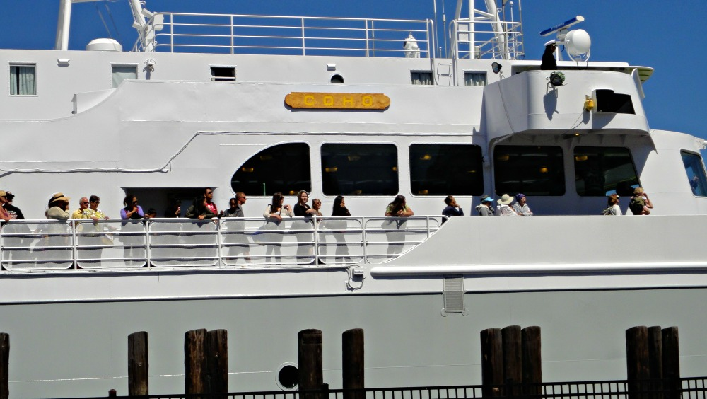 Coho Ferry Docking - Victoria BC