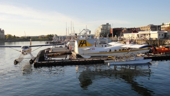 Seaplane Flights to Victoria Downtown