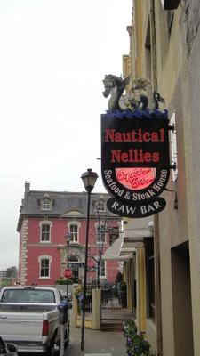 Broughton Street entrance to Nautical Nellies
