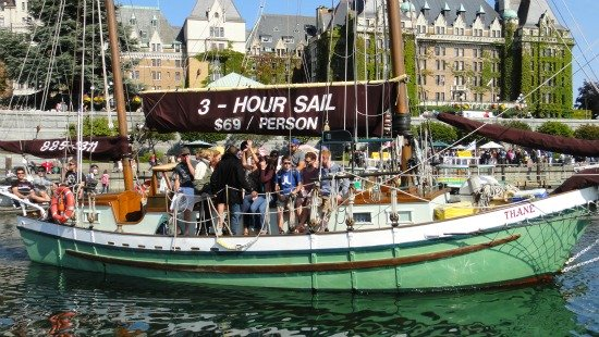 victoria bc tours - Sailing Trip from Downtown Harbour