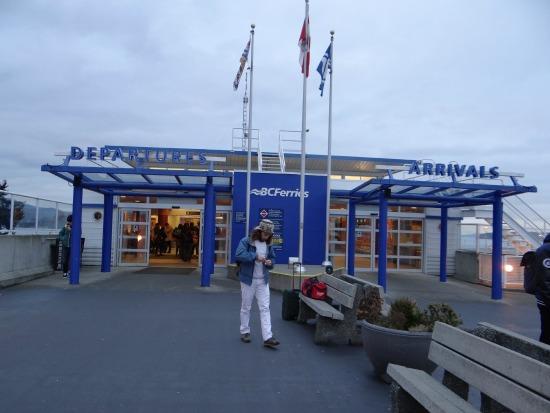 Arrival Departure Area - Foot Passengers